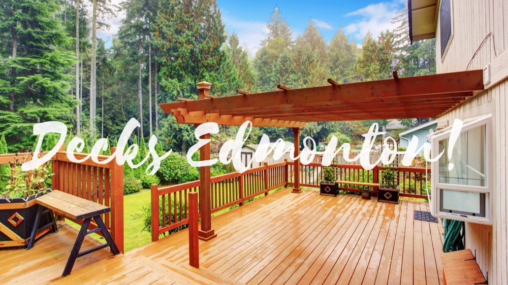 4 Things To Consider When Building Your Decks Edmonton
